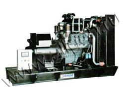 Дизель электростанция EMSA EDO 360 мощностью 360 кВА (288 кВт) на раме