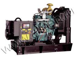 Дизель электростанция EMSA EN 50 мощностью 50 кВА (40 кВт) на раме