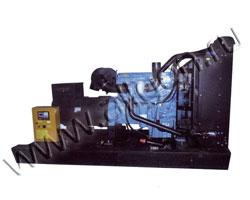 Дизель электростанция EMSA EP 350 мощностью 350 кВА (280 кВт) на раме