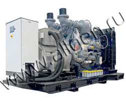 Дизель электростанция Energo ED 510/400 MU мощностью 562 кВА (450 кВт) на раме
