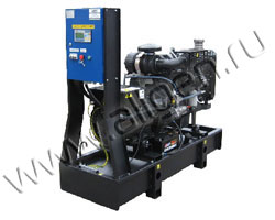 Дизель электростанция EPS System GI 33 мощностью 32 кВА (26 кВт) на раме