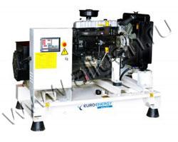Дизель электростанция EuroEnergy ENG-85 мощностью 85 кВА (68 кВт) на раме