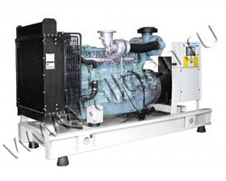 Дизель электростанция EuroEnergy EMG-350 мощностью 350 кВА (280 кВт) на раме