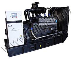 Дизель электростанция FLAGMAN АД250-Т400-1Р/1РП мощностью 344 кВА (275 кВт) на раме