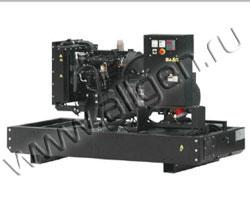 Дизель электростанция Fogo FI30 мощностью 33 кВА (26 кВт) на раме