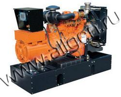 Дизель генератор FPT GEF30MA мощностью 33 кВА (26 кВт) на раме