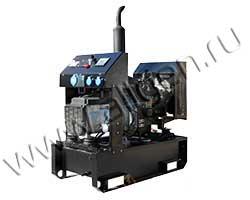 Дизель электростанция GENBOX KBT24T/TS мощностью 33 кВА (26 кВт) на раме