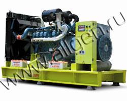 Дизель электростанция GenPower GDD 345 мощностью 345 кВА (276 кВт) на раме