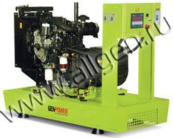 Дизель электростанция GenPower GPR 50 мощностью 50 кВА (40 кВт) на раме