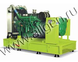 Дизель электростанция GenPower GVP 358 мощностью 341 кВА (273 кВт) на раме