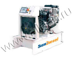 Дизель электростанция GenPowex AJ 33 мощностью 33 кВА (26 кВт) на раме