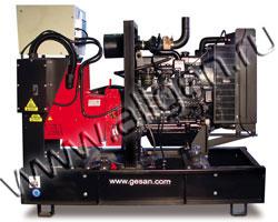 Дизель электростанция Gesan DPA 35E мощностью 33 кВА (26 кВт) на раме