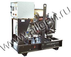 Дизель электростанция Gesan QI 35 / QIS 35 мощностью 33 кВА (26 кВт) на раме