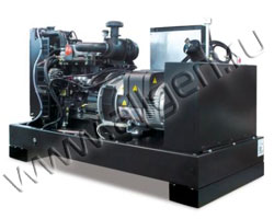 Дизель генератор Gesan DPB 10E мощностью 9 кВА (7 кВт) на раме