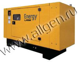 Дизель генератор Gesan DLB 9E мощностью 9 кВА (7 кВт) в шумозащитном кожухе