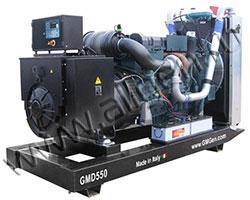 Дизель электростанция GMGen GMD550 мощностью 550 кВА (440 кВт) на раме