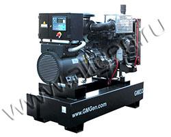 Дизель электростанция GMGen GMI33 мощностью 33 кВА (26 кВт) на раме