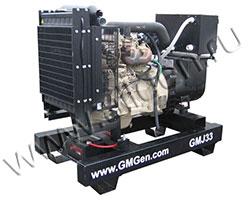 Дизель электростанция GMGen GMJ33 мощностью 33 кВА (26 кВт) на раме