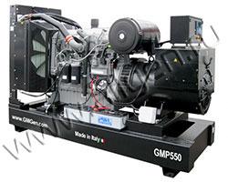 Дизель электростанция GMGen GMP550 мощностью 550 кВА (440 кВт) на раме