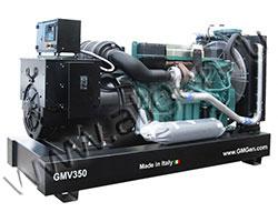 Дизель электростанция GMGen GMV350EC мощностью 350 кВА (280 кВт) на раме