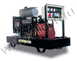 Дизель электростанция Green Power GP11A/LW-C (S/LW-C) мощностью 12 кВА (10 кВт) на раме