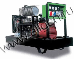 Дизель электростанция Green Power GP33A/P-N мощностью 33 кВА (26 кВт) на раме