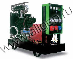 Дизель электростанция Green Power GP44A/P-N мощностью 47 кВА (38 кВт) на раме