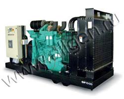 Дизель электростанция Green Power GP560A/C мощностью 550 кВА (440 кВт) на раме