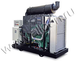 Дизель электростанция Green Power GP560A/V мощностью 550 кВА (440 кВт) на раме