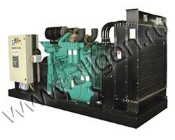 Дизель электростанция HERTZ HG550PС мощностью 550 кВА (440 кВт) на раме