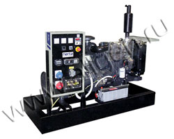 Дизель электростанция HERTZ HG33PС мощностью 33 кВА (26 кВт) на раме