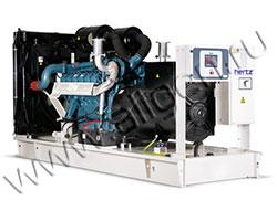 Дизель электростанция HERTZ HG335DC мощностью 335 кВА (268 кВт) на раме