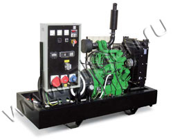 Дизель электростанция Hobberg HJ 33 мощностью 33 кВА (26 кВт) на раме