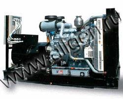 Дизель электростанция Hobberg HD 560 мощностью 550 кВА (440 кВт) на раме