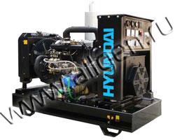 Дизель электростанция Hyundai DHY30KE / KSE мощностью 34 кВА (27 кВт) на раме