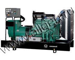 Дизель электростанция Inmesol AD 550 / ID 550 мощностью 550 кВА (440 кВт) на раме