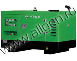 Дизель генератор Inmesol AD 044 / ID 044 мощностью 44 кВА (35 кВт) в шумозащитном кожухе