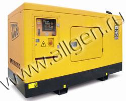 Дизель генератор JCB G33X (QX) мощностью 33 кВА (26 кВт) в шумозащитном кожухе
