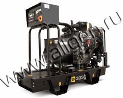 Дизель электростанция JCB G33X (QX) мощностью 33 кВА (26 кВт) на раме