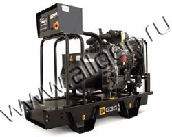 Дизель генератор JCB G33X (QX) мощностью 33 кВА (26 кВт) на раме