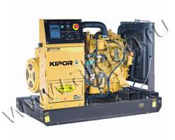 Дизель электростанция Kipor KDE13E3 мощностью 12 кВА (9 кВт) на раме