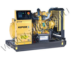 Дизель электростанция Kipor KDE35E3 мощностью 31 кВА (25 кВт) на раме