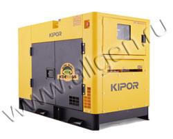 Дизель генератор Kipor KDE36SS3 мощностью 33 кВА (26 кВт) в шумозащитном кожухе