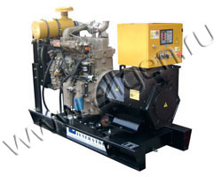 Дизель электростанция Kurkcuoglu KJL50 мощностью 50 кВА (40 кВт) на раме