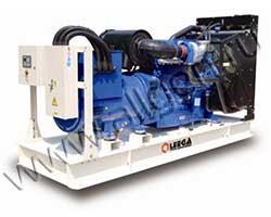 Дизель электростанция Leega LG 344SC мощностью 344 кВА (275 кВт) на раме