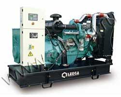 Дизель электростанция Leega LG 34YD мощностью 34 кВА (27 кВт) на раме