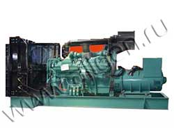 Дизель электростанция Leega LG 550SC мощностью 550 кВА (440 кВт) на раме