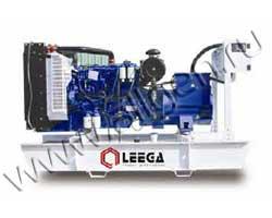 Дизель электростанция Leega LG 88SC мощностью 88 кВА (70 кВт) на раме