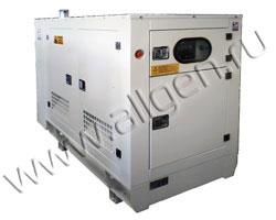 Дизель генератор Lister Petter LLG30 мощностью 31 кВА (25 кВт) в шумозащитном кожухе