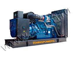 Дизель электростанция MingPowers M-D344 мощностью 344 кВА (275 кВт) на раме